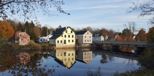 town of cherryfield along the Narraguagus River